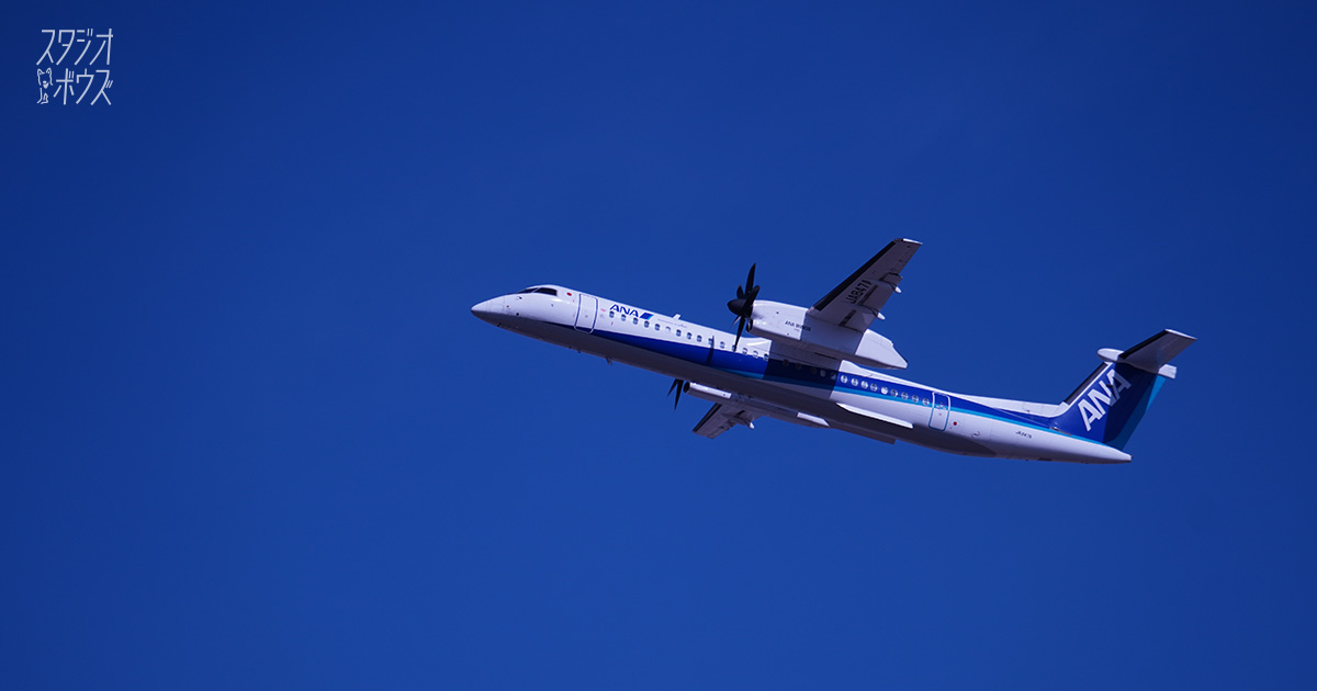 離陸する飛行機を真正面から! 伊丹空港のマイナー絶景スポット「猪名川左岸土手」「箕面川河川敷」|スタジオ・ボウズ
