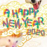 【自主創作】2020年年賀状